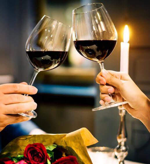 Wir zaubern ein Valentinsmenü